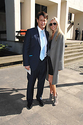 MATTHEW MELLON and NOELLE RENO at the memorial service of Isabella Blow held at the Guards Chapel, London W1 on 18th September 2007.<br /><br />NON EXCLUSIVE - WORLD RIGHTS