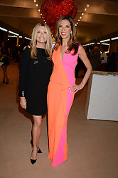 Left to right, TINA HOBLEY and HEATHER KERZNER at the Masterpiece Midsummer Party in aid of Marie Curie Cancer Care held at The Royal Hospital Chelsea, London on 2nd July 2013.