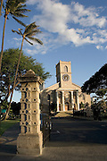 Kawaihao Church, Honolulu, Oahu, Hawaii, USA<br />