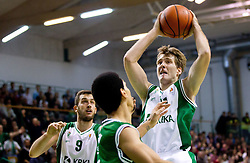 Zoran Dragic of Krka during basketball match between KK Krka and Union Olimpija Ljubljana of Round 7th of ABA League 2011/2012, on November 12, 2011 in Arena Leon Stukelj, Novo mesto, Slovenia. (Photo By Vid Ponikvar / Sportida.com)