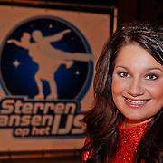 NLD/Utrecht/20110126 - Perspresentatie Sterren Dansen op het IJs 2011, Sieneke Peeters