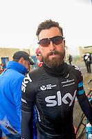 Eisel Bernhard - Sky - 31.03.2015 - Trois jours de La Panne - Etape 01 - De Panne / Zottegem <br /> Photo : Sirotti / Icon Sport<br /> <br />   *** Local Caption ***