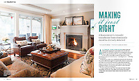 Boulevard Magazine assignment: A renovated townhome gets a Provencal makeover.