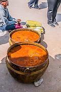 Herbal water at Boudhanath stupa in Kathmandu, Nepal