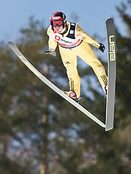 18.03.2010, Triglav, Planica, SLO, FIS SKI Flying World Championships 2010, Qualifikation, im Bild AHONEN Janne ( FIN, #60 ), EXPA Pictures © 2010, PhotoCredit: EXPA/ J. Groder / SPORTIDA PHOTO AGENCY