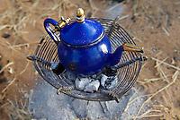 Niger. Ceremonie du the chez les Touaregs. // Niger. Tea ceremony, Touareg peoples.