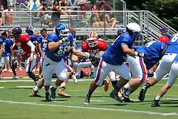 18 June 2016:  Illinois Shriner High School All Stars Football At Tucci Stadium in Bloomington Illinois