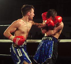 - Photo mandatory by-line: Dougie Allward/JMP - Tel: Mobile: 07966 386802 27/04/2013 - SPORT - FOOTBALL - City Academy Sports Centre - Bristol - Lee Haskins V Martin Ward - British bantamweight title