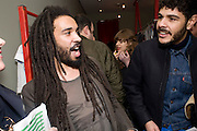 ANDREW IBI. OPENING OF 'THE CONVENIENCE STORE' AT ST. MARTIN'S LANE HOTEL. London. 19 March 2009
