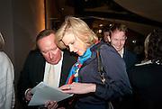 ANDREW NEIL; AMANDA STAVELEY, Spectator Life - launch party, Asprey London, 167 New Bond Street, London. 28 March 2012