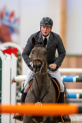 Riesenbeck, Pferdesportzentrum, RIESENBECK - Int. Deutsche Meisterschaften Springen 2020,<br /> <br /> WERNKE Jan (GER), Queen Mary 10<br /> CSI2*<br /> Int. Springprüfung (Fehler/Zeit) - 1.45 m<br /> <br /> 05. December 2020<br /> © www.sportfotos-lafrentz.de/Stefan Lafrentz
