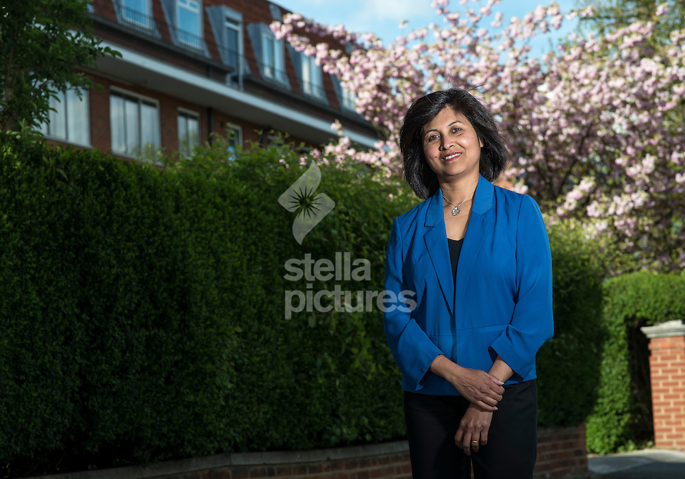 Second generation immigrant Ajantha Tennakoon who will vote Conservative at the upcoming general election.<br /> Picture by Daniel Hambury/Stella Pictures Ltd +44 7813 022858<br /> 28/04/2015