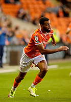 Football - 2021 / 2022 EFL Carabao Cup - Round Two - Blackpool vs. Sunderland -Bloomfield Road - Tuesday 24th August 2021<br /> <br /> CJ Hamilton of Blackpool, at Bloomfield Road.<br /> <br /> COLORSPORT/Alan Martin