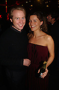 JOE BAMFORD AND ALEX GORE BROWNE, Party to celebrate the First issue of British Harper's Bazaar. Cirque, Leicester Sq. London. 16 February 2006. ONE TIME USE ONLY - DO NOT ARCHIVE  © Copyright Photograph by Dafydd Jones 66 Stockwell Park Rd. London SW9 0DA Tel 020 7733 0108 www.dafjones.com