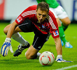 25.09.2010, Weser Stadion, Bremen, GER, 1.FBL, Werder Bremen vs Hamburger SV im Bild  Frank Rost (HSV #1)   EXPA Pictures © 2010, PhotoCredit: EXPA/ nph/  Kokenge+++++ ATTENTION - OUT OF GER +++++ / SPORTIDA PHOTO AGENCY