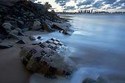 Joao Pessoa_PB, 25 de Marco de 2013<br /> <br /> Projeto Mar Adentro<br /> <br /> Praca de Iemenja destruida pela acao do mar, nas proximidades do ponto mais oriental do Brasil<br /> <br /> Foto: LEO DRUMOND / NITRO