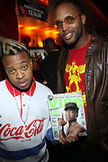Retro Kidz and Guest at The Jamie Foxx's Album Release Party for Intuition, Sponsored by Vibe Magazine & Patron Tequila held at Home on December 17, 2008 in New York City..