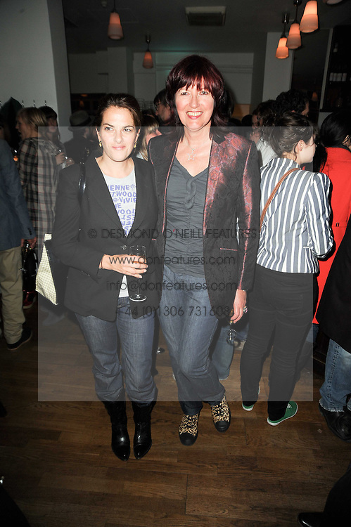 Left to right, TRACEY EMIN and JANET STREET-PORTER at a party to celebrate the 10th anniversary of Counter Editions the contemporary art website held at Rivington Grill, Shoreditch, London on 5th May 2010.