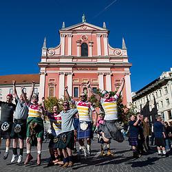 20171007: SLO, Football - Supporters of Scotland in Ljubljana