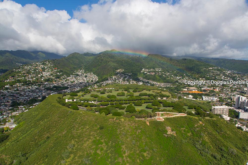 Punchbowl, National Memorial Cemetary, Honolulu, Oahu, Hawaii