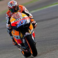 2011 MotoGP World Championship, Round 18, Valencia, Spain, 6 November 2011, Casey Stoner