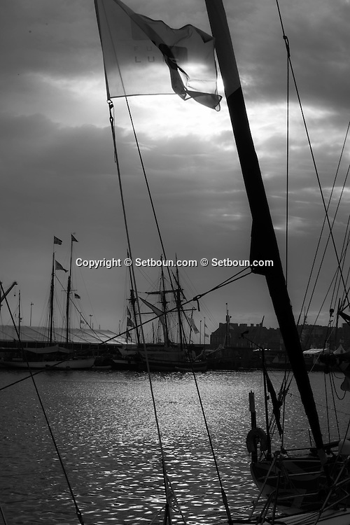 France  Britany  Saint Malo  port