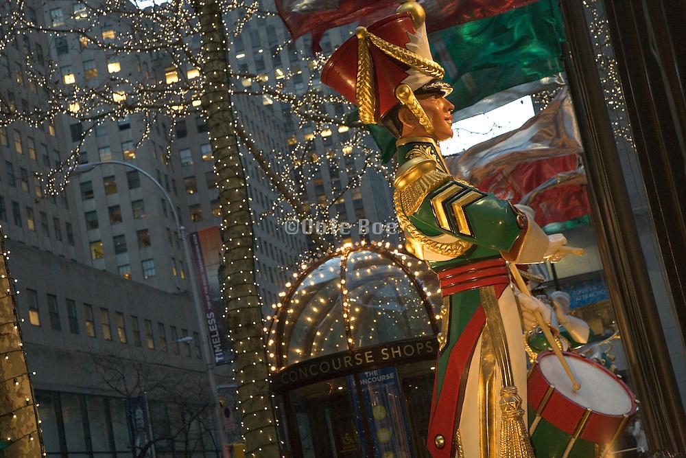Rockefeller Center Christmas decoration around the square