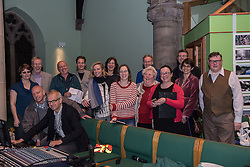 The Action Porty group leading the campaign for the community right to buy of Bellfield Church and Halls in Portobello held an open meeting last night in Portobello and Joppa Parish Church. Pictured Some of the Action Porty team<br /> © Jon Davey/ EEm