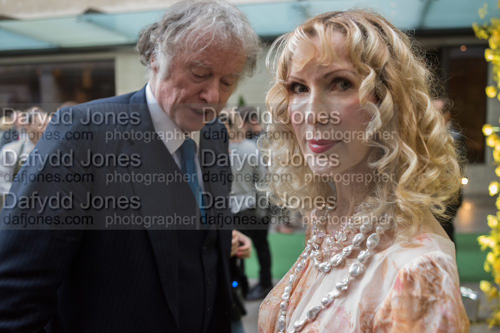 RICHARD BRIGGS, BASIA BRIGGS  90th Anniversary Celebration of the JW Marriott Grosvenor House London 30 APRIL 2019