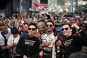 June 10-16, 2019: 24 hours of Le Mans. 7 TOYOTA GAZOO RACING, TOYOTA TS050 - HYBRID,  Mike CONWAY, Kamui KOBAYASHI, Jose Maria LOPEZ , driver's parade