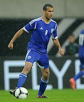Fotball<br /> Tyskland v Israel<br /> 31.05.2012<br /> Foto: Witters/Digitalsport<br /> NORWAY ONLY<br /> <br /> Avihay Yadin (Israel)<br /> Fussball Laenderspiel, Deutschland - Israel 2:0