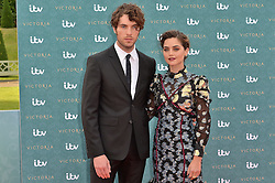 © Licensed to London News Pictures. 11/08/2016. JENNA COLEMAN and TOM HUGHES attends the VIP press screening of Victoria. The ITV series traces the early life of Queen Victoria, from her accession to the throne at the tender age of 18 through to her courtship and marriage to Prince Albert.  London, UK. Photo credit: Ray Tang/LNP