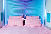 modern funny colrful modern bed