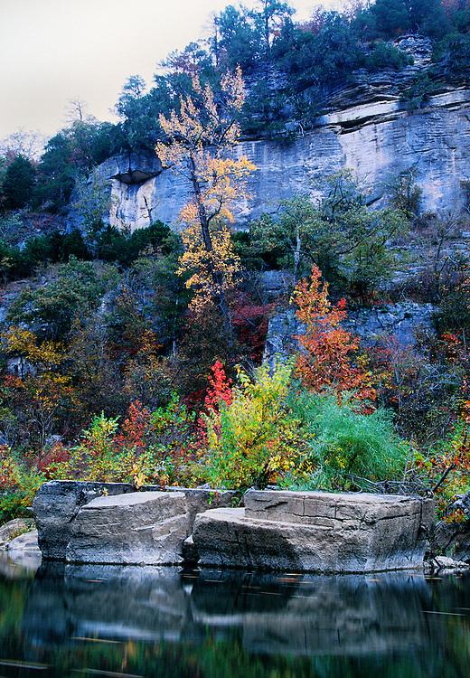 Fall color, Buffalo National River, Arkansas