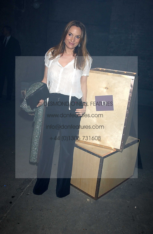 EMILY OPPENHEIMER-TURNER at a party for De Beers to celebrate the launch of their Rough diamond •Talisman Collectionê held at Shunt Vaults, London Bridge, London SE1 on 28th November 2005.<br /><br />NON EXCLUSIVE - WORLD RIGHTS