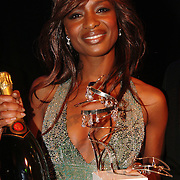 NLD/Amsterdam/20051128 - Uitreiking Beau Monde Awards 2005, Sylvana Simons