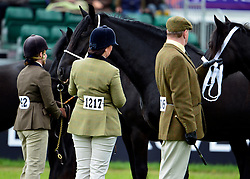 © Licensed to London News Pictures. 10/05/2013. Windsor, UK  Riders and their horses at the show. The Royal Windsor Horse Show, set in the grounds of Windsor Castle. Established in 1943, this year will see the Show celebrate its 70th anniversary. Photo credit : Stephen Simpson/LNP