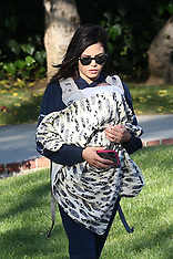 Jenna Dewan out and about with her son Callumn - 4 April 2020