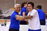 DESCRIZIONE : Caorle Amichevole Pre Eurobasket 2015 Nazionale Italiana Femminile Senior Italia Australia Italy Australia<br /> GIOCATORE : Giulia Gatti Remo Bifolchi<br /> CATEGORIA : pregame before<br /> SQUADRA : Italia Italy<br /> EVENTO : Amichevole Pre Eurobasket 2015 Nazionale Italiana Femminile Senior<br /> GARA : Italia Australia Italy Australia<br /> DATA : 30/05/2015<br /> SPORT : Pallacanestro<br /> AUTORE : Agenzia Ciamillo-Castoria/GiulioCiamillo<br /> Galleria : Nazionale Italiana Femminile Senior<br /> Fotonotizia : Caorle Amichevole Pre Eurobasket 2015 Nazionale Italiana Femminile Senior Italia Australia Italy Australia<br /> Predefinita :