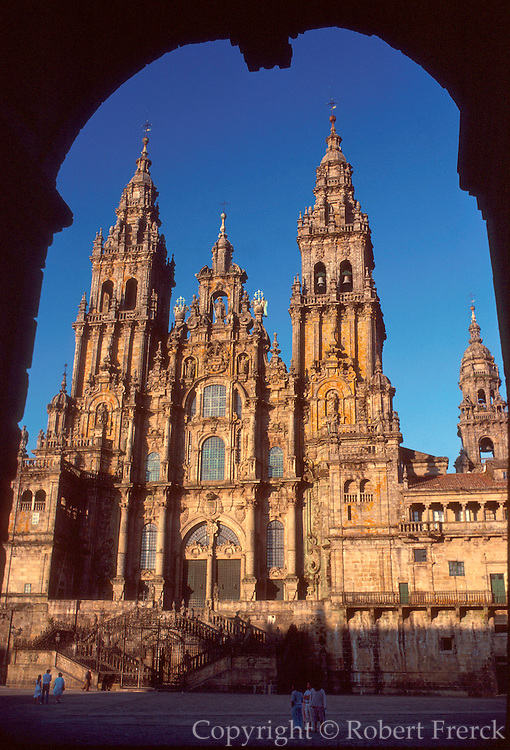 SPAIN, NORTH COAST, GALICIA Santiago de Compostela Cathedral