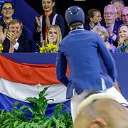 NLD/Amsterdam/20190127 - Jumping Amsterdam, dag 3, Willem-Alexander, Amalia, Irene en Margarita