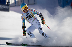 18.12.2016, Grand Risa, La Villa, ITA, FIS Ski Weltcup, Alta Badia, Riesenslalom, Herren, 2. Lauf, im Bild Stefan Luitz (GER) // Stefan Luitz of Germany reacts after his 2nd run of men's Giant Slalom of FIS ski alpine world cup at the Grand Risa race Course in La Villa, Italy on 2016/12/18. EXPA Pictures © 2016, PhotoCredit: EXPA/ Johann Groder