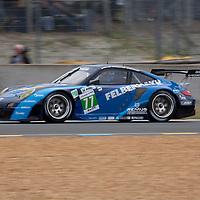 #77 Porsche 911 RSR (997), Team Felbermayr-Proton, Drivers: Lieb/Lietz/Henzler, Le Mans 24H, 2012