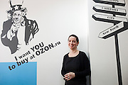 Moscow, Russia, 26/03/2012..Maelle Gavet, Chief Executive Officer of internet marketing company OZON, at the company's Moscow headquarters.