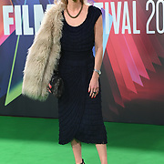 Nichola Martin arrives at The Phantom of the Open at BFI London Film Festival 2021, 12 October 2021 Southbank Centre, Royal Festival Hall, London, UK.