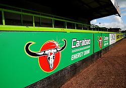 Carabao Cup branding- Mandatory by-line: Nizaam Jones/JMP - 05/09/2020 - FOOTBALL - New Lawn Stadium - Nailsworth, England - Forest Green Rovers v Leyton Orient - Carabao Cup