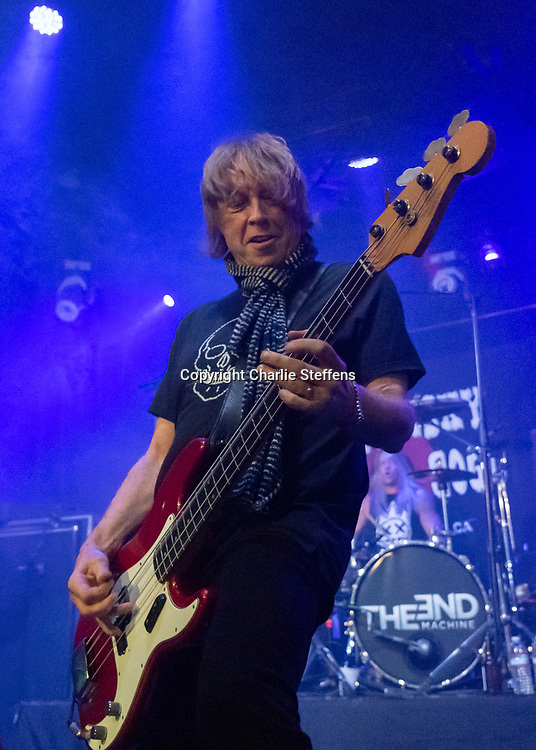 Jeff Pilson of The End Machine at the Whisky a Go Go in West Hollywood, California