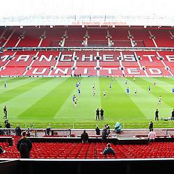 20110503: ENG, Schalke 04 (GER) training at Manchester United stadium
