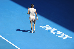 January 22, 2018 - France - Melbourne centre - Flinders Park stade - Caroline Garcia France (Credit Image: © Panoramic via ZUMA Press)