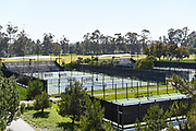 Tennis Courts at the Crawford Athletic Complex at the University of California Irvine, UCI